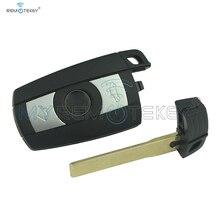 Smart remote key 3 button 868 Mhz KR55WK49127 CAS3 CAS3+ 7945 electronic chip for BMW 328i 335i 528i 535i 2008 2009 2010 2011 315 433 868 mhz smart remote key 4 buttons for bmw 3 5 7 series cas4 system 2009 2010 2011 2012 2013 2014 2015 2016 kr55wk49863