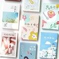 30 teile/los Box Postkarte, Retro Liebhaber Reise Hinweise Emotionale Journal Memo Sammelalbum Gruß Karte, Die Karte Dekoration Papier