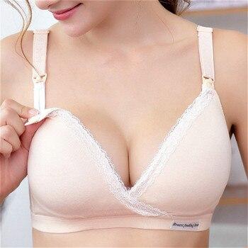 Cotton Breastfeeding Bra | Pregnancy Breast Sleep Underwear 1