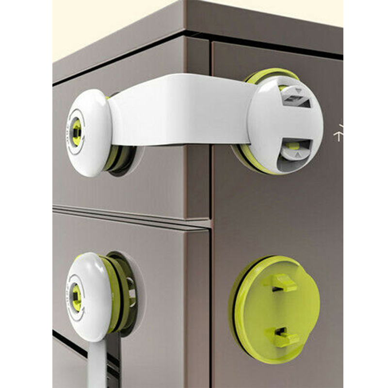 Baby Safety Locks For Cabinet Door Drawers Refrigerator Toilet  Locks Kids Baby Security Protector Locks For Children Baby Care