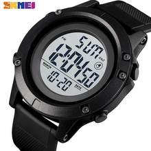 SKMEI-reloj Digital para hombre, pulsera deportiva resistente al agua, con alarma semanal, 2 veces, 1508