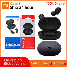 Xiaomi Redmi AirDots 2 TWS Bluetooth 5.0 Earphone 5.0 MI True Wireless Earbuds Basic 2 Gaming Mode Automatic Link AI Control