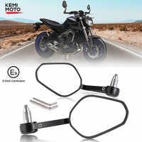 Motorrad Lenker Spiegel Rearview Motorrad Bar End Spiegel Für Honda cb500x pcx msx 125 schatten r1200gs Für Yamaha MT09 07