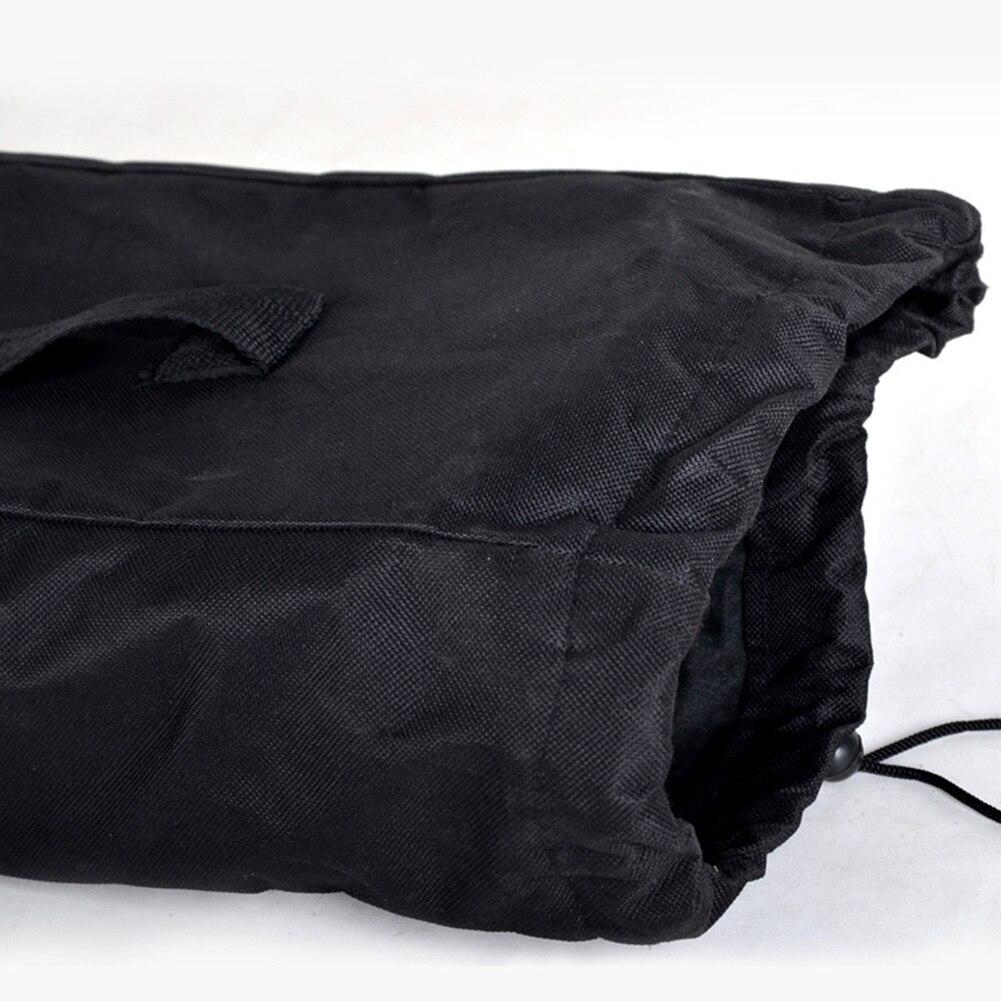 Waterproof Longboard Adjustable Cover Solid Black Shoulder Unisex Backpack Travel Accessories Oxford Cloth Skateboard Bag