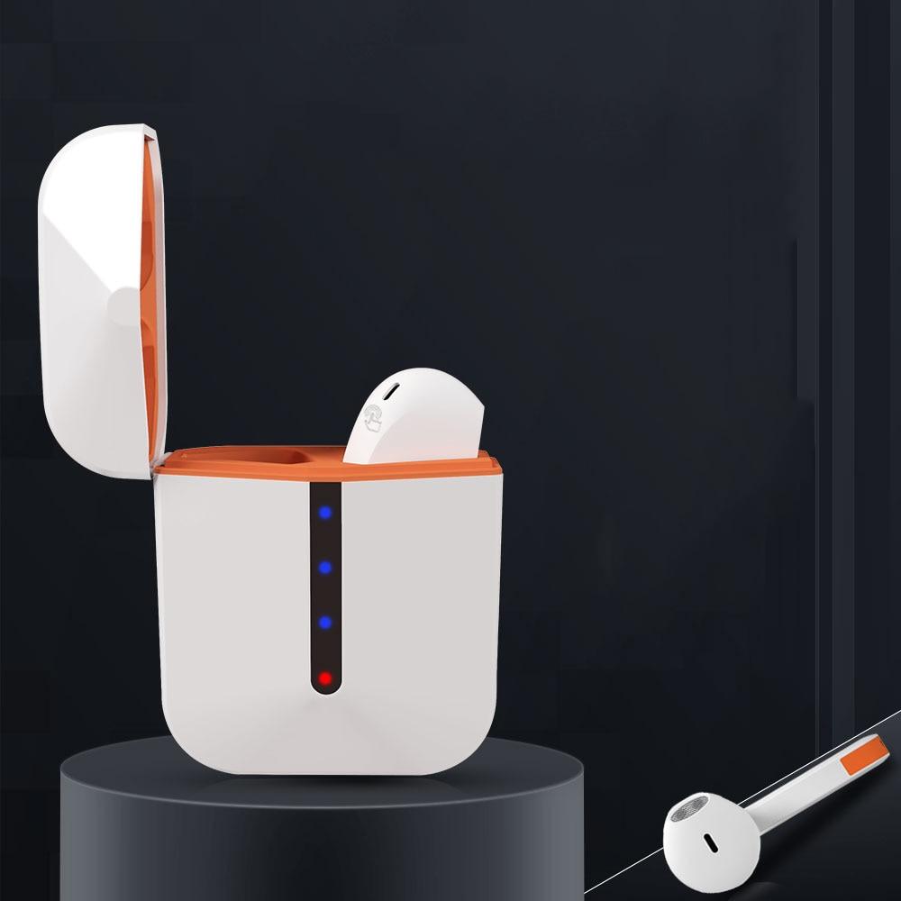 Беспроводные наушники, мини-наушники, Bluetooth 5,0, спортивные стереонаушники для iPhone, Android, H12, Tws, гарнитура для режима «свободные руки»