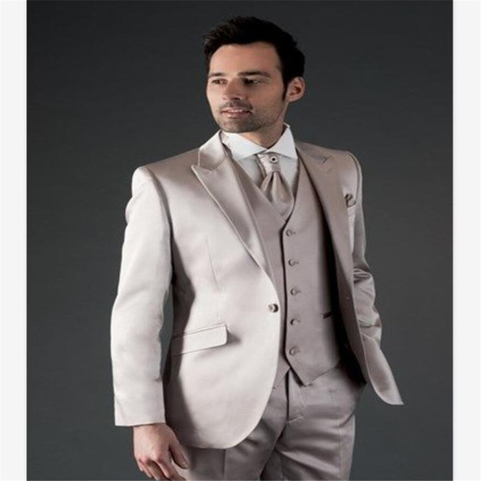 New Classic Men's Suit Smolking Noivo Terno Slim Fit Easculino Evening Suits For Men Wedding Groom Tuxedos Masculino Blazers For