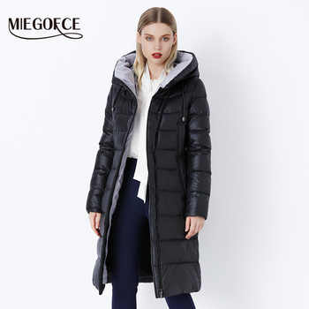 MIEGOFCE 2019 Coat Jacket Winter Women's Hooded Warm Parkas Bio Fluff Parka Coat Hight Quality Female New Winter Collection Hot - DISCOUNT ITEM  71% OFF All Category