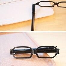 Creative Glasses Shape Ballpoint Pen For Student Children Writing Stationary Hot
