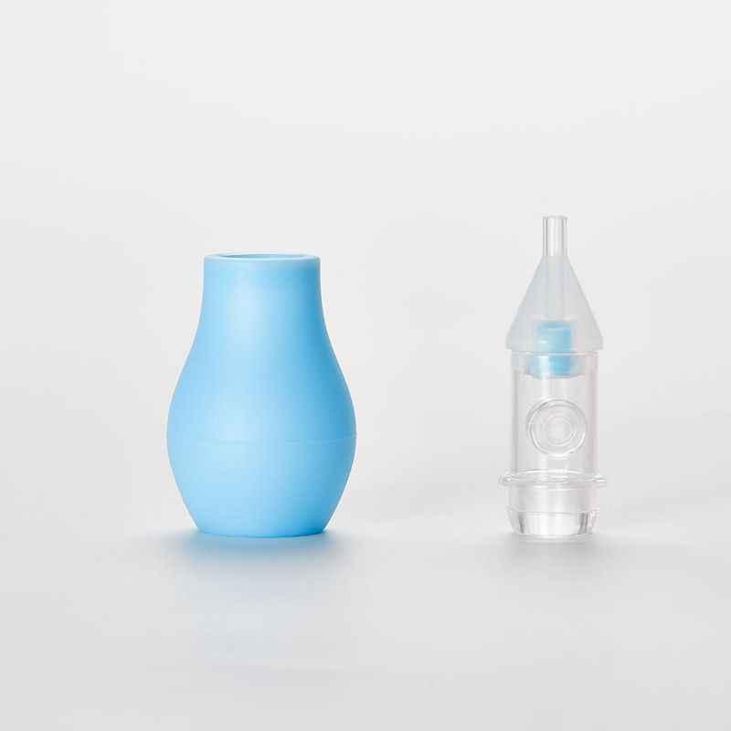 鼻吸引器ベビー吸引鼻クリップ固体シリコーンポンプ逆流防止吸引装置安全で、非毒性 2 ピースギフトボックス