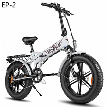 EU Stock 20 4 0inch Fat Tire Electric bike 48V12 5A electric bicycle Foldable 38km