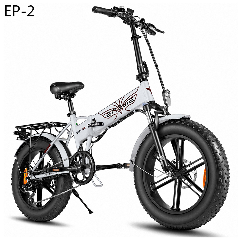 EU-Magazzino-20-4-0-pollici-Fat-Tire-bici-Elettrica-48V12-5A-bicicletta-elettrica-Pieghevole Offerta ENGWE EP-2 a 641€, la migliore FAT Bike da 500W, bici elettrica Pieghevole