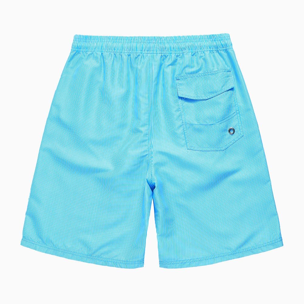 Beach Shorts Seaside Drifting Men's Men's Quick-Dry Peach Skin Youth Thin Five 5 Seaside Beach Pants Shorts Men's