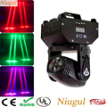 Niugul RGBW Mini LED 10W FÜHRTE Strahl Moving Head Licht, high Power 4in1 LED Strahl Wirkung Bühne Licht Für Party Disco KTV DJ Beleuchtung