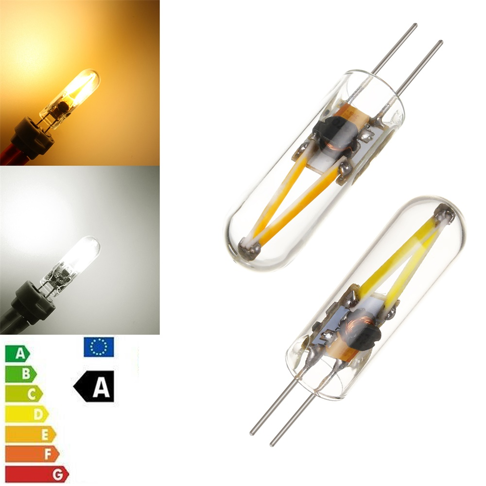 Mini G4 COB LED Filament Light Bulb 3W 12V Replace 15W Halogen Glass Lamps Cool Warm White LEDS Replace Halogen Pendant Lamp  YZ