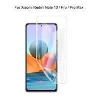 Protector de pantalla máx HD para Xiaomi Redmi Note 10 Pro / Note 10 Pro, película de hidrogel suave 3D