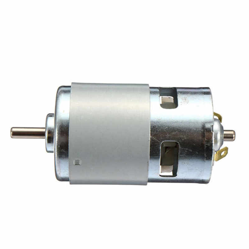 775 موتور تيار مباشر 12-36 فولت 4000-12000 دورة في الدقيقة تحمل الكرة المغزل المحرك مع ER11 تمديد قضيب نحت سكين لآلة التوجيه باستخدام الحاسب الآلي