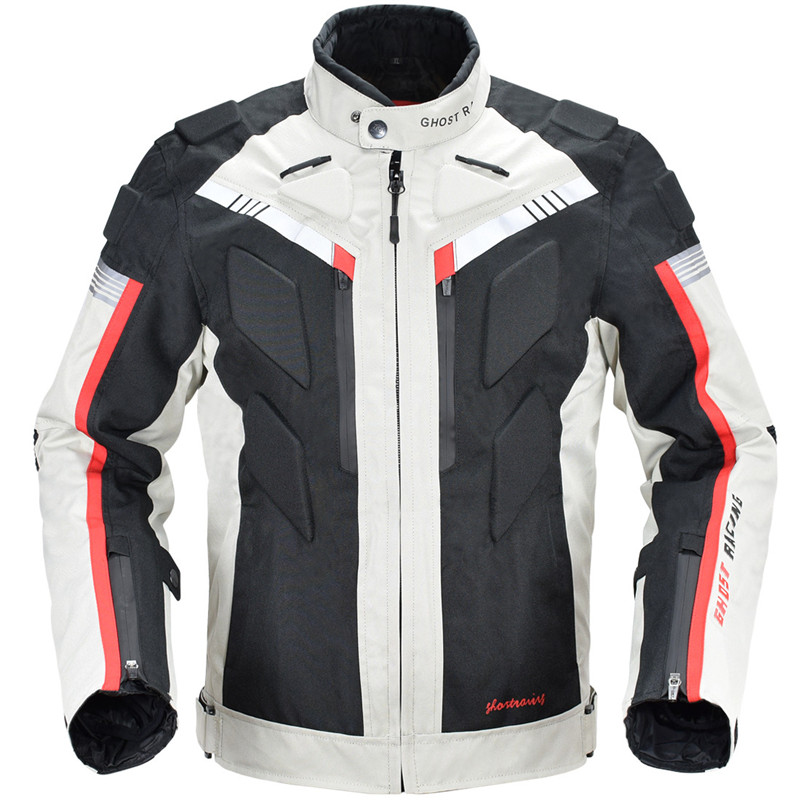 Image 3 - Motorcycle Jersey Jacket Men Waterproof Windproof Full Body Protective Autumn Winter Riding Racing Motorbike Jacket Clothing 128-in Jackets from Automobiles & Motorcycles