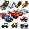 Спортивный автомобиль City Speed Champions  совместимы с lepiningly Technic  гоночный автомобиль  супер-гонщики  фигурки  строительные блоки  кирпичи  детские...