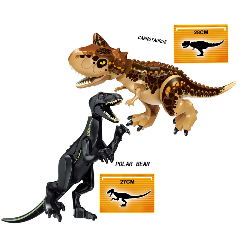 Jurassic World Dinosaurs Building Blocks 3