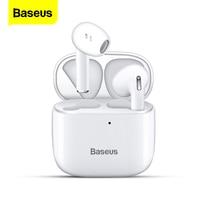 Baseus E8 twsワイヤレスbluetoothヘッド真ワイヤレスイヤフォンゲーミングヘッドセットhdステレオ耳芽iphone 12 xiaomi