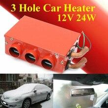 Universal Auto heizung Innen Defroster Heizung 3 Loch 12 volt 24W Zubehör