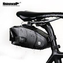 Велосипедная сумка Седло rhinowalk светоотражающая Задняя большого