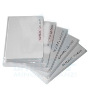 Card-Production Thin-Card Attendance Radio-Frequency Access ID Id-White
