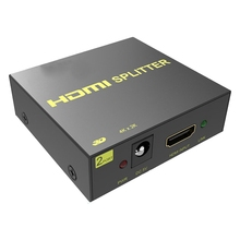 Splitter Switcher HDMI 1 2-Out 2-Screen Eu-Plug Tv 1-Minute 4K
