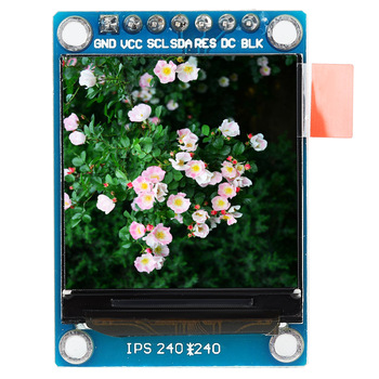 1..3 Inch IPS Color LCD Display Module 240x240 3.3V SPI ST7735 For Arduino Display OLED Ips LCD Screen St7735