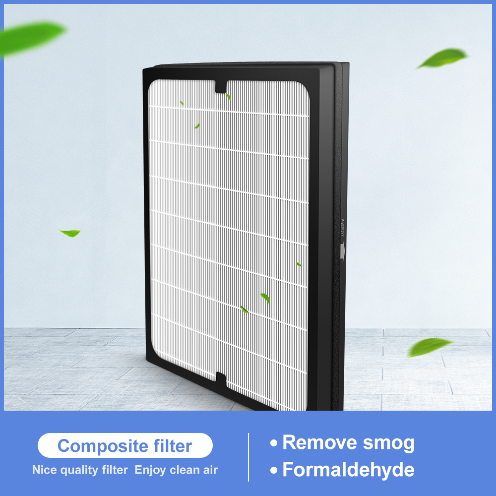 HEPA + Activated Carbon  Composite Multifunctional Filter Air Purifier 300*220*20mm For BORK AP RIH 1515 SI