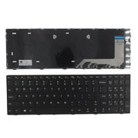 جديد الولايات المتحدة لوحة مفاتيح لأجهزة لينوفو ideaPad 110 15ISK 110 17ACL 110 17IKB 110 17ISK لوحة مفاتيح كمبيوتر محمول أمريكية لا الخلفية مع الإطار|لوحات المفاتيح البديلة|الكمبيوتر والمكتب -