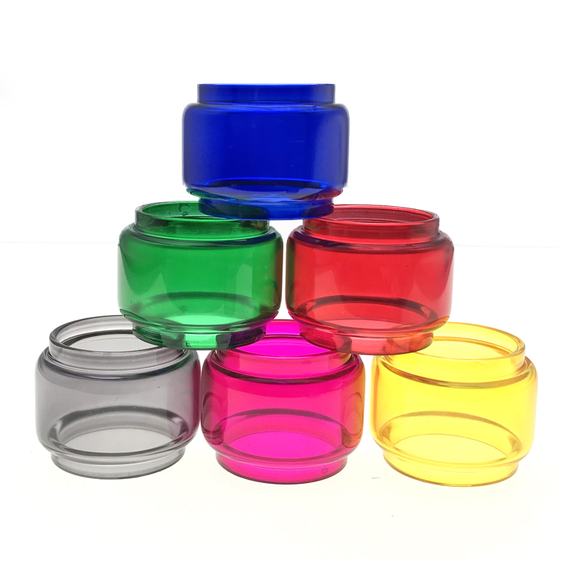 Vapesoon Replacement Rainbow Bubble Color Glass Tube  For TFV16 Tank Atomizer 9ml  Capacity