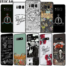 IYICAO Panic! At The Disco Weichen Silikon Telefon Fall für Samsung Galaxy S20 Ultra S10e S9 S8 Plus S6 S7 Rand S10 lite Abdeckung(China)