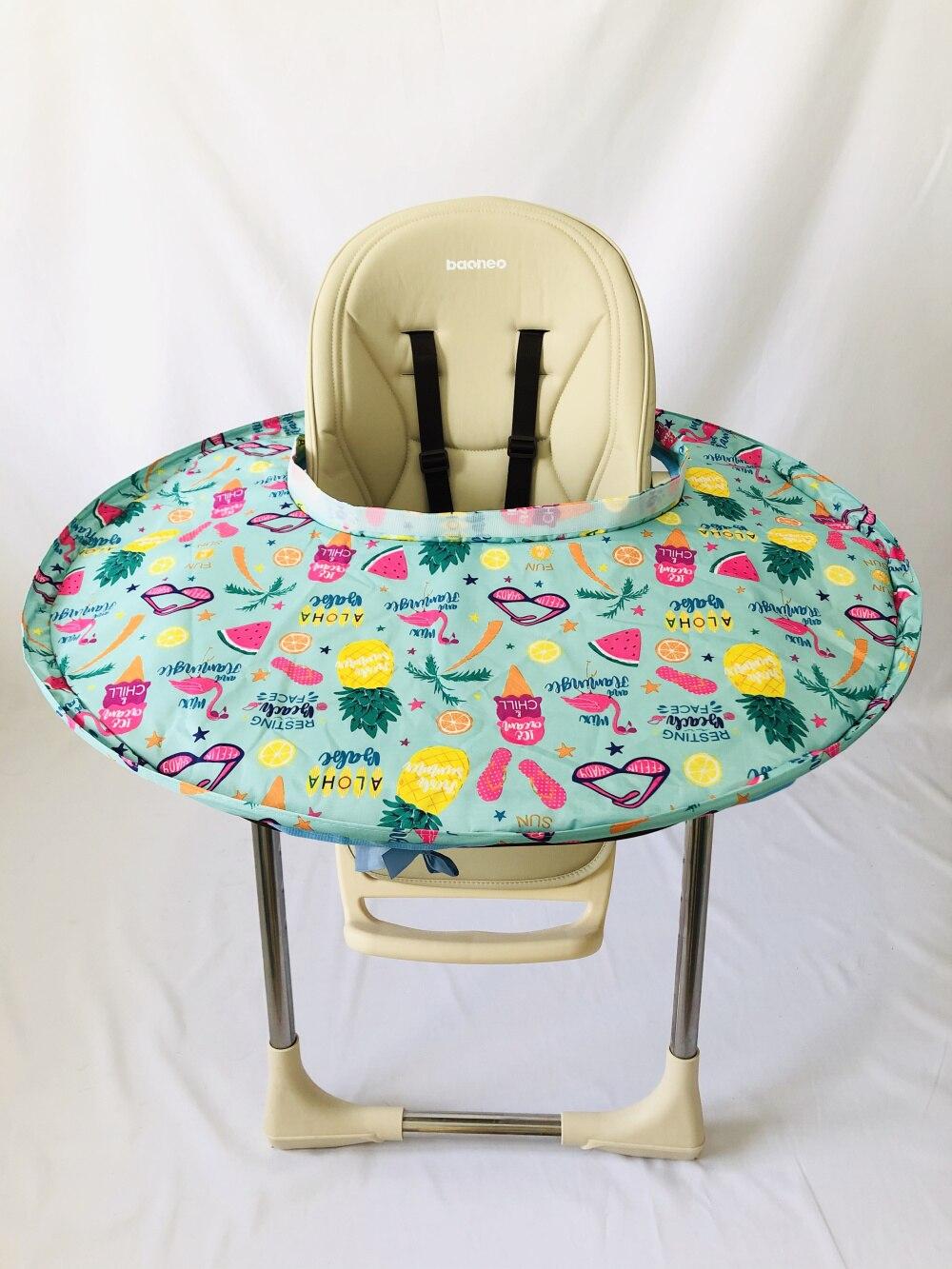 1 комплект-детское обеденное кресло с блюдцем Манхэттенский чехол для стульев и халаты для еды для младенцев и малышей