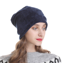 2019 New Autumn Winter Women Hats Fashion Warm Knitted Velve