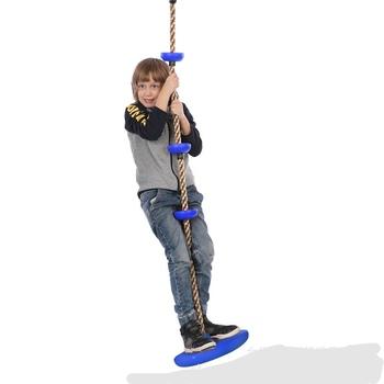 Aktywność i wyposażenie bramkarzy skoczków i huśtawek kryty odkryty PP + PE huśtawka dla dzieci wspinaczka na dole duża tarcza lina wspinaczkowa huśtawka sprzedaż tanie i dobre opinie Ecoz CN (pochodzenie) 0-36 miesięcy 18 kg Bramkarzy skoczków i huśtawki Z tworzywa sztucznego Stałe