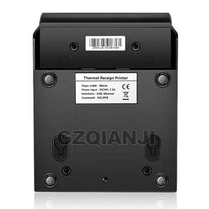 Image 2 - Pos Bill printer 80mm thermal receipt Small ticket barcode printerT Auto Cutting Restaurant Kitchen Printer USB Lan Serial Port