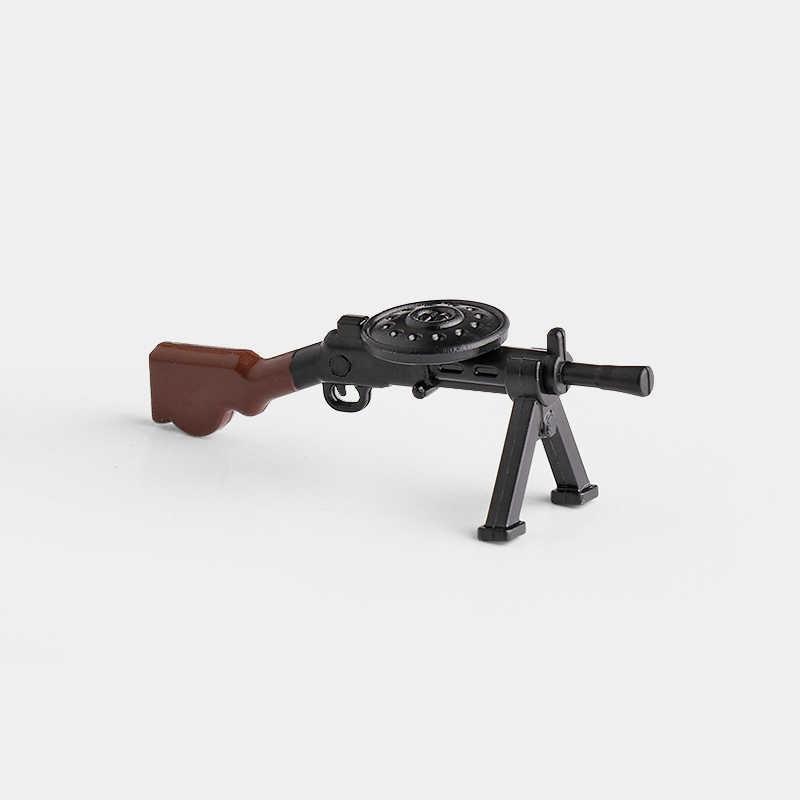 5 pz/lotto WW2 Pistole Armi da Guerra Fucile Mitragliatore MOC Parte Building Blocks Giocattoli Dei Mattoni per I Bambini X349