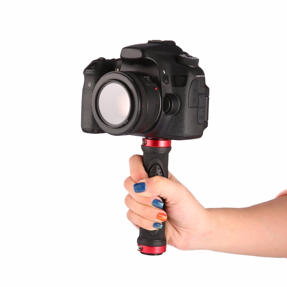 Universal Portable 1 4 quot Screw Handle Holder Grip Stabilizer for Gopro Camera Digital Video Camera Camcorder in Photo Studio Accessories from Consumer Electronics