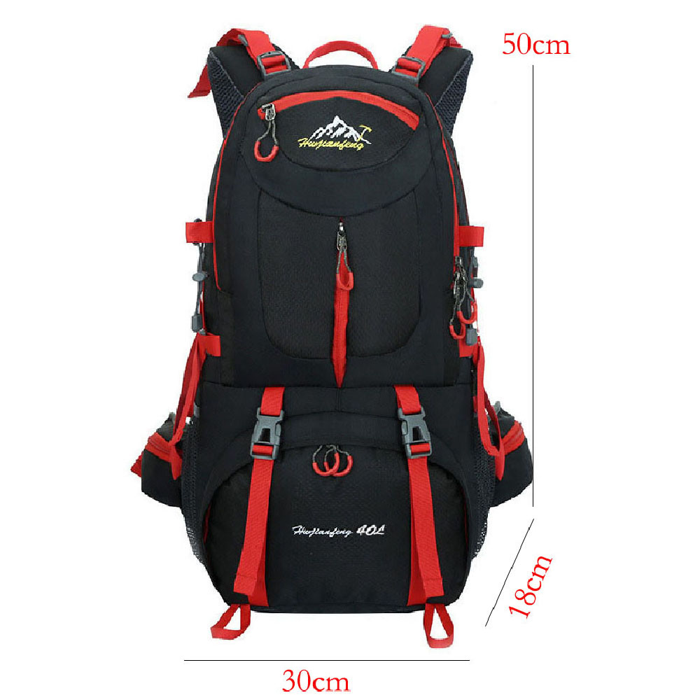 40L Outdoor Sports Mountaineering Bag Backpack Hiking Camping Travel Climb Bags