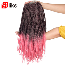 Hair Crochet roots/pack Pink