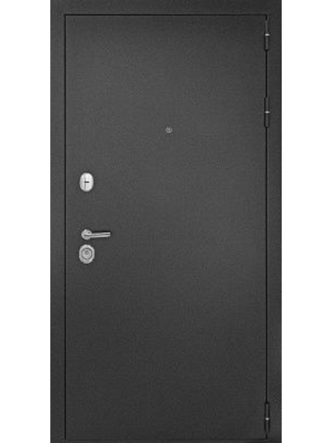 Стальная дверь Дверной Континент ГАРАНТ-1 ЦАРГА Капучино