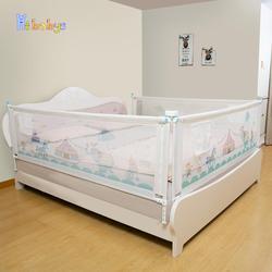 Регулируемый защитный барьер для детской кровати с вертикальным подъемом, детский манеж, рельсы для кроватки для малышей