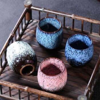 150ml Kongfu Ceramic Teacup Handmade Tea Cup Modern Porcelain Espresso Mug In An Evergreen Glaze 1