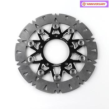 For Yamaha BWS X Cygnus 125 260mm Front Wheel Fork Disc Brake Center-Lock Rotor Motorcycle Scooter Accessories Stainless Steel