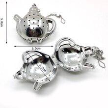 1 шт. ситечко для заварки чая из нержавеющей стали, сетчатый фильтр, многоразовые 4 формы, товары для домашнего сада