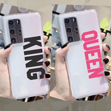 Lovers king Queen 01 Quotes Patterned Phone Case For