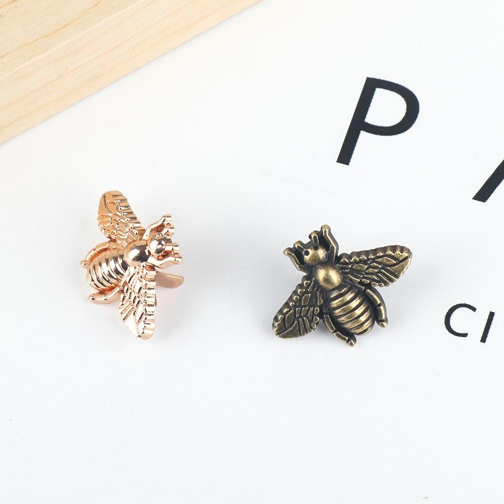 1PC Bag Parts Exquisite Metal Clasp Turn Lock Twist Lock Bee Animal Bag Decoration DIY Bag Craft Hardware Handbag Accessories