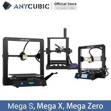 طابعة ANYCUBIC I3 ميجا/S/X/صفر ثلاثية الأبعاد معدنية كاملة حجم كبير إطار سطح المكتب Impresora ثلاثية الأبعاد Drucker لتقوم بها بنفسك عدة أدوات الطارد