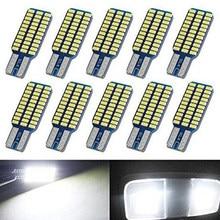 4x voiture LED T10 192 194 168 W5W ampoule LED 33 SMD 3014 feux arrière dôme lampe blanc DC 12V Canbus sans erreur Auto accessoires